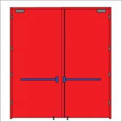 Fire Rated Emergency Exit Door