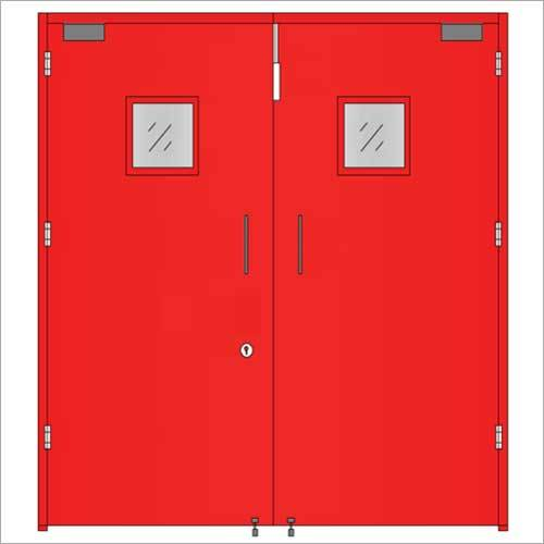 Metal Hinged Fire Safety Door
