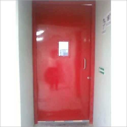 Mild Steel Industrial Fire Resistance Door