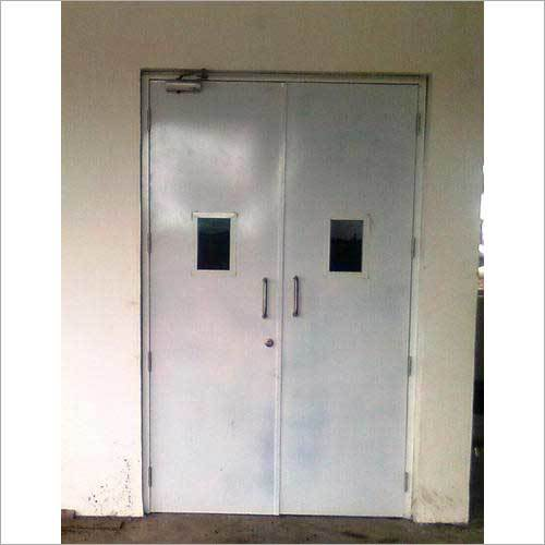 Hollow Metal Pressed Steel Double Door