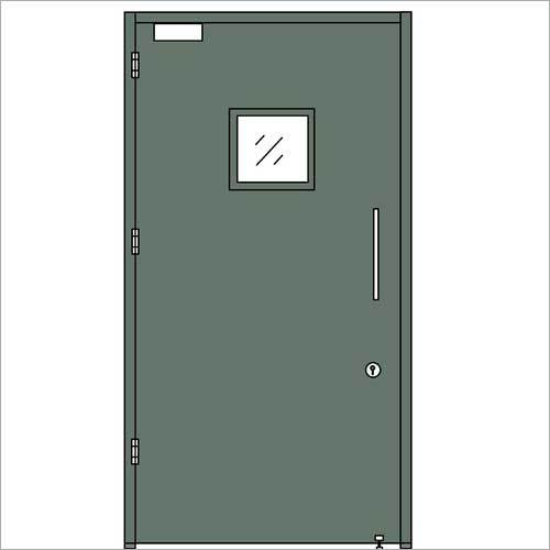 Hollow Metal Hinged Double Door