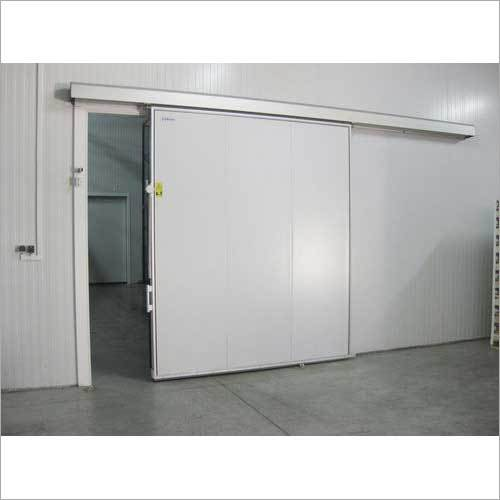Industrial Steel Sliding Door