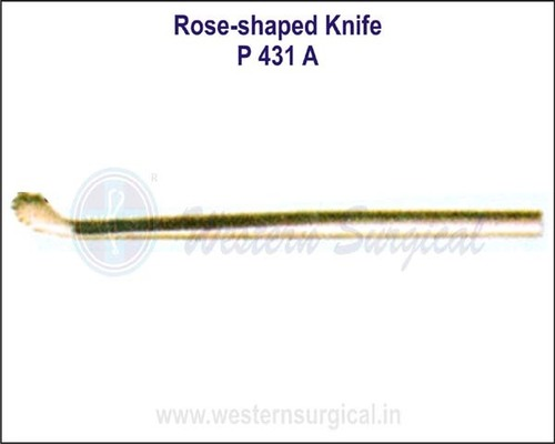 Rose-Shaped Knife