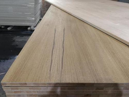 Teak Veneer Wood Block board sheets