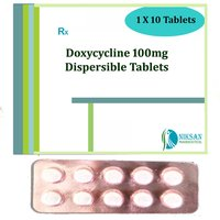 Doxycycline Dispersible 100Mg Tablets