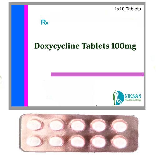 Doxycycline Hcl 100 Mg Tablets