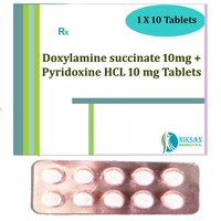 Doxylamine Succinate 10Mg Pyridoxine Hcl 10 Mg Tablets