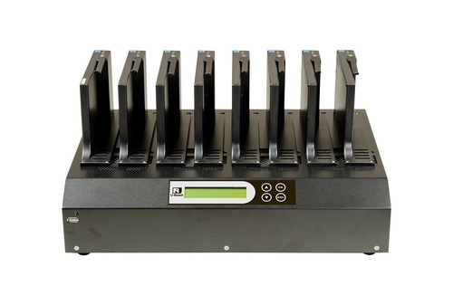 IT Professional Factory Series - 1 to 7 HDD/SSD Duplicator and Sanitizer (IT700G)