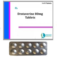 Drotaverine 80Mg Tablets