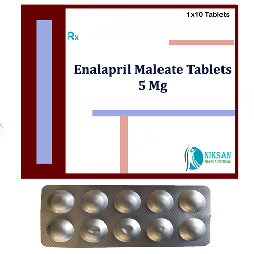 Enalapril Maleate 5Mg Tablets
