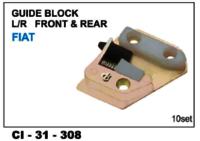 Guide Block   Front & Rear Fiat  L/R