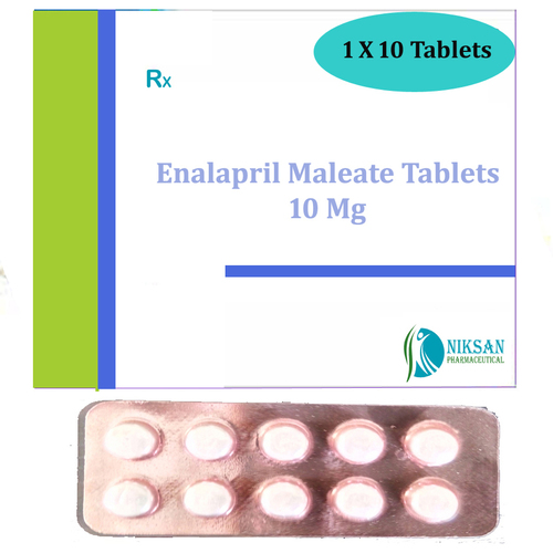Enalapril Maleate 10 Mg Tablets