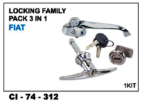 Locking Family Pack 3 In 1 Fiat