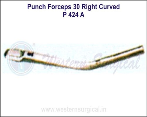 Punch Forceps 30* Right Curved