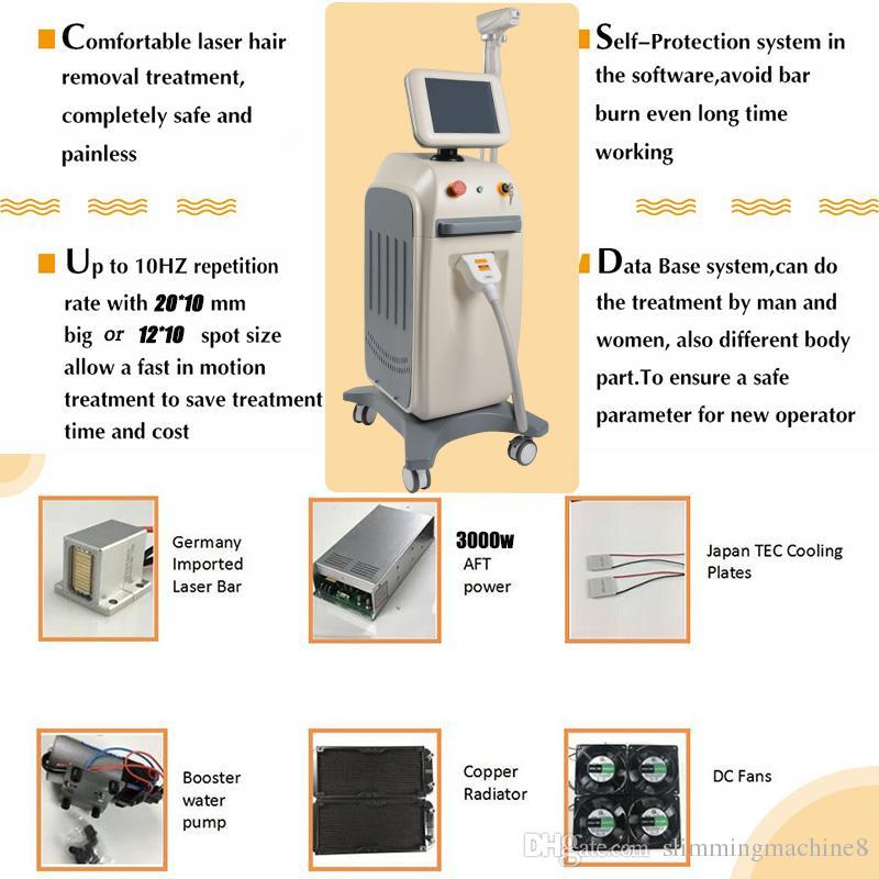 808nm laser diode hair removal