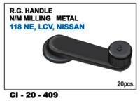 Rg Handle N/M Milling Metal  118 Ne, Lcv, Nissan