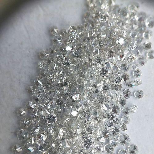 Cvd Diamond 1.90mm DEF VS SI Round Brilliant Cut Lab Grown HPHT Loose Stones TCW 1
