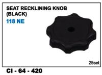 Seat Recklining Knob(Black) 118 Ne