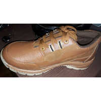 Leather Upper Airmix Sole Pasted Safety Shoes