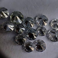 Cvd Diamond 2.00mm DEF VS SI Round Brilliant Cut Lab Grown HPHT Loose Stones TCW 1