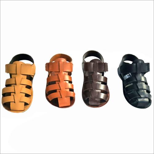 Kids Leather Sandal