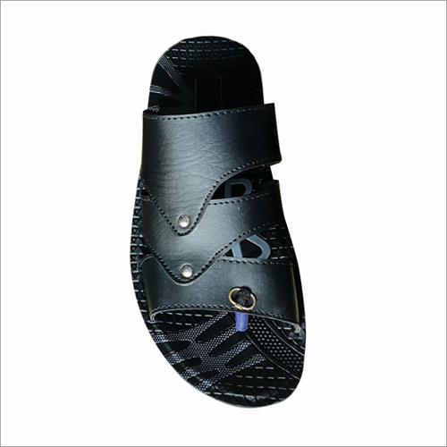 Mens Black Slipper