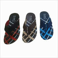 Mens Designer PU Slipper
