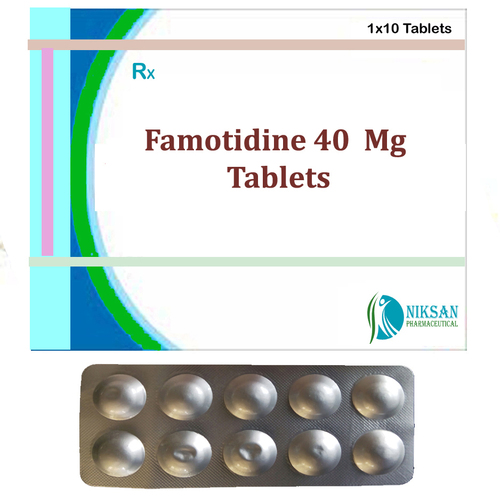 Famotidine 40 Mg Tablets