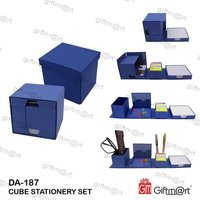 Cube Stationery Set