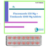 Fluconazole 150 Mg Tinidazole 1000 Mg Tablets