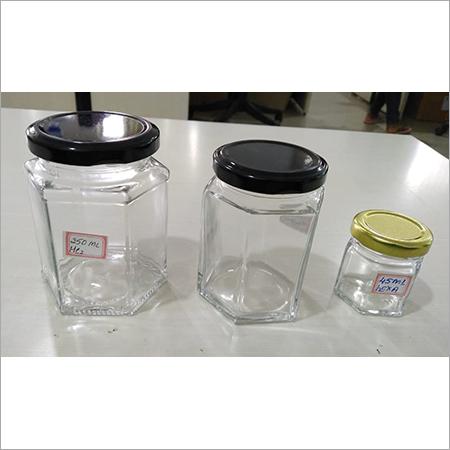 Hexagonal Jar