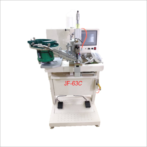Single Nail Studs And Pearl Fixing Machine