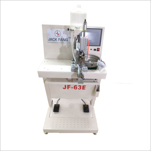 Single Head Pearl Attaching Machine I PEARL ATTACHING MACHINE I MOTI MACHINE