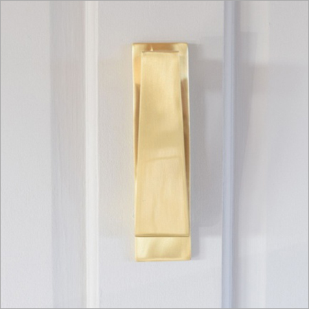 Modern Brass Door Knocker