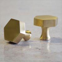 Brass Cupboard Knob