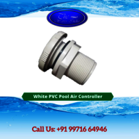 White PVC Pool Air Controller