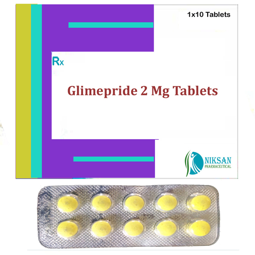 Glimepride 2 Mg Tablets