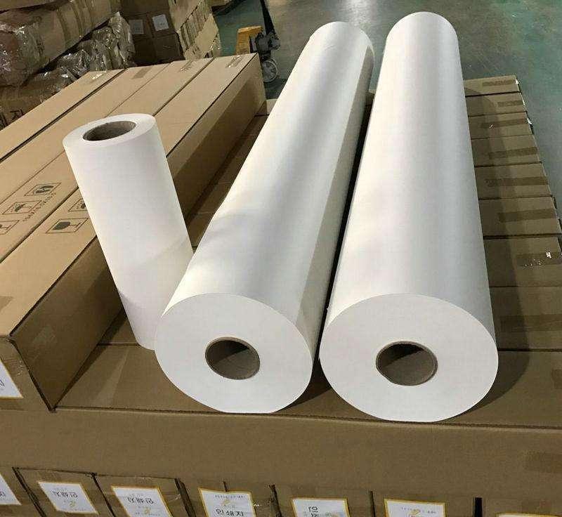 Customized fully automatic powder of heat transfer / dye sublimation paper coating machine