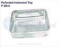 Perforated Instrument Tray