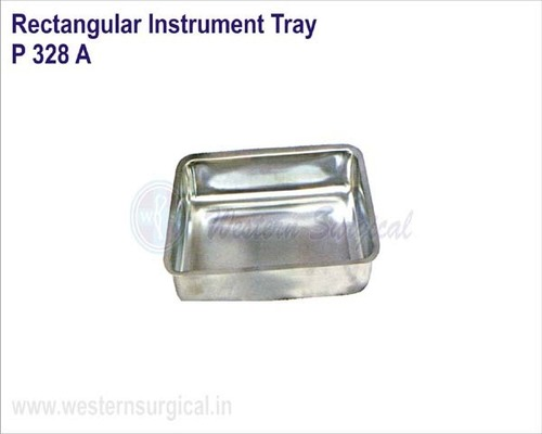 Rectangular Instrument Tray