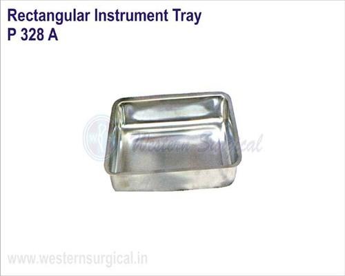 Rectangular Instrument Tray