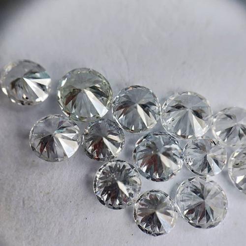 Cvd Diamond 3.30mm DEF VS SI Round Brilliant Cut Lab Grown HPHT Loose Stones TCW 1