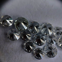 Cvd Diamond 3.30mm DEF VS SI Round Brilliant Cut Lab Grown HPHT Loose Stones TCW 1