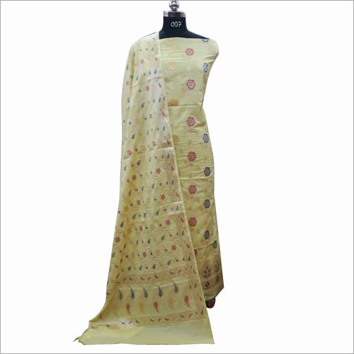 Banarasi Cotton Suit Fabric