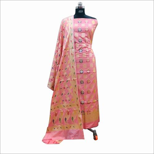 Banarasi Light Cotton Suit Fabric