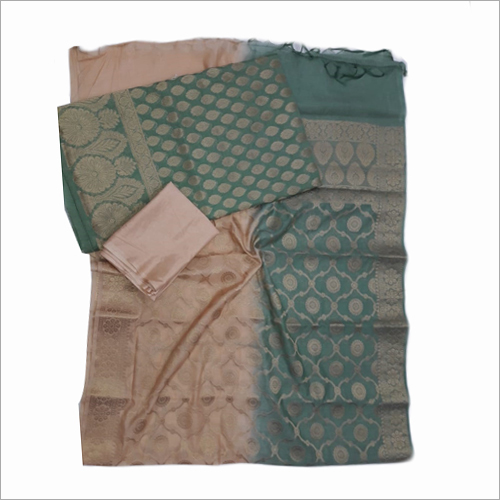 Banarasi Pure Chanderi Fabric