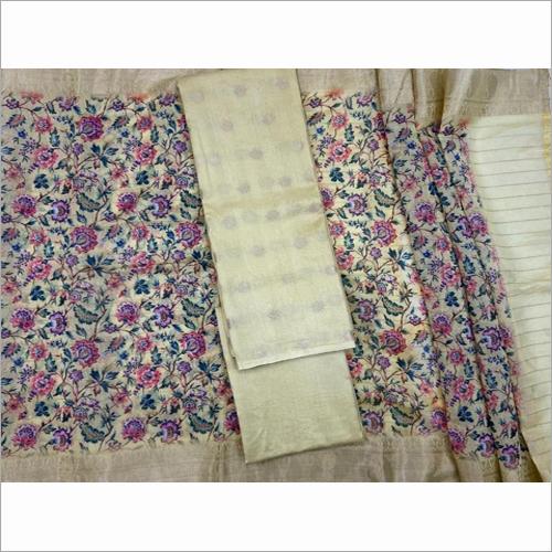 Pure Chanderi Silk Bottom Fabric