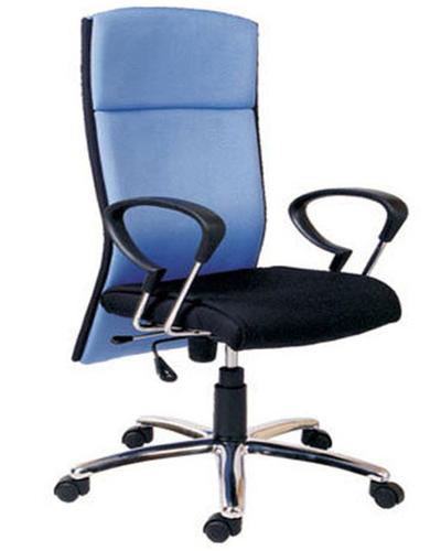 Revolving High Back Cushion Chair