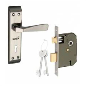 7 Inch Grey Iron Mortise Door Lock Set