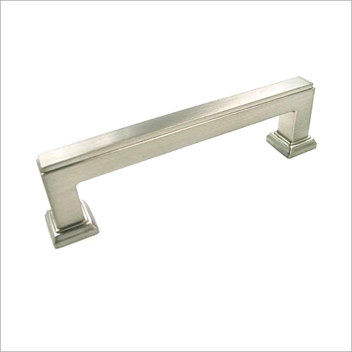 96 mm Satin Nickel Square Bar Kitchen Cabinet Handle